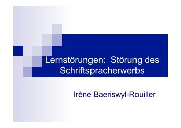 LRS Dyslexie - Commonweb