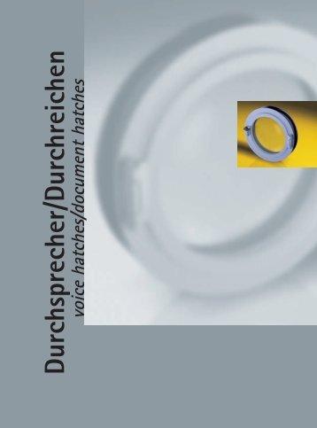 Durchsprecher/Durchreichen – Auszug aus dem Junior Katalog - Pauli