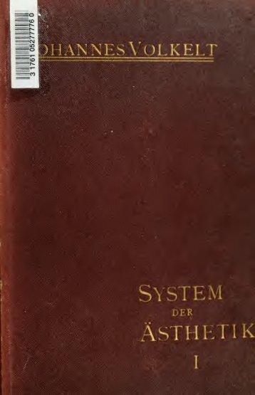 System der Ästhetik