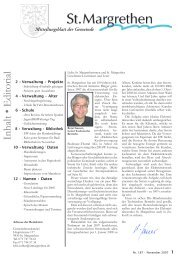 187-Mitteilungsblatt-11-07 [PDF, 7.63 MB] - St. Margrethen
