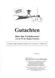 Gutachten - Landesentwicklungsgesellschaft Thüringen mbH