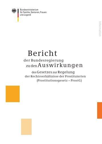 Bericht - Bundesministerium für Familie, Senioren, Frauen und Jugend