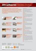 Flachdach Produkte - Xtratherm - Seite 4