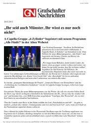 Grafschafter Nachrichten - 6-Zylinder