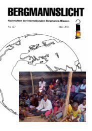 Bergmannslicht Nr. 127 S 1 - 16 - International Miners' Mission