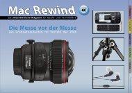 Mac Rewind - Issue 08/2009 (159) - MacTechNews.de - Mac Rewind