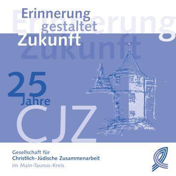 Festschrift - Gesellschaft für Christlich-Jüdische Zusammenarbeit ...