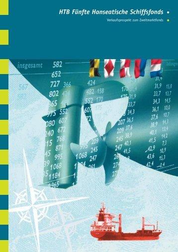 HTB Fünfte Hanseatische Schiffsfonds - HTB Schiffsfonds