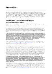 Datenschutzerklärung als PDF herunterladen - Longboard-Rider.de