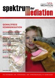 Gewaltfreie KommuniKation - Bundesverband Mediation eV