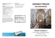 SÜDWEST PRESSE + Hapag-Lloyd Reisebüro