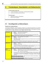 6 Trendanalysen, Datentabellen und Zielwertsuche - Abitur-Hilfe.de
