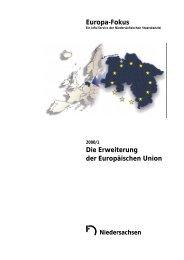 Die Erweiterung der Europäischen Union - EIZ Niedersachsen