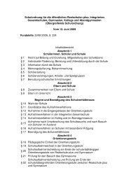 Schulordnung für die öffentlichen Realschulen plus, Integrierten ...