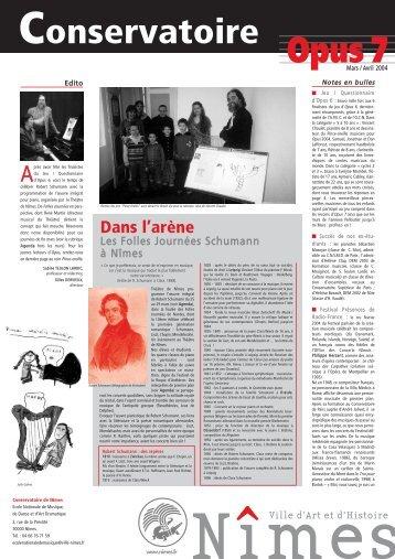 Journal OPUS 5 - Nîmes