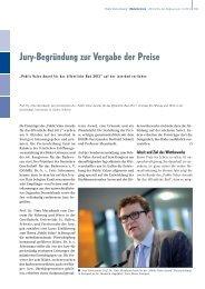 Jury-Begründung zur Vergabe der Preise - Deutsche Gesellschaft ...