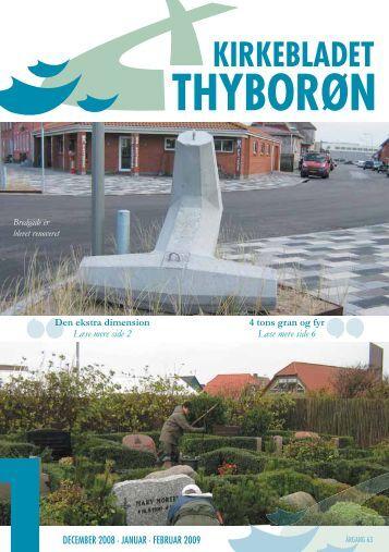 Nr. 01: December 2008, Januar – Februar 2009 - Thyborøn Kirke