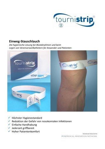 Einweg-Stauschlauch - MIN Medical Innovation Network