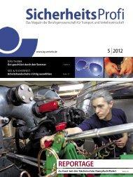 SicherheitsProfi 5/2012 - Berufsgenossenschaft für Transport und ...