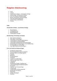 Ratgeber Arbeitsvertrag - Betriebsrat-spv-og.de