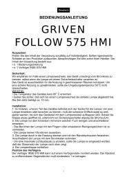 GRIVEN FOLLOW 575 HMI