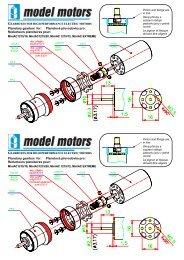 Planetary gearbox for: Planetová převodovka pro: Réducteurs ...