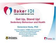 to download this presentation - Sports Medicine Australia