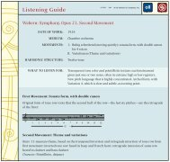 Listening Guide - WW Norton & Company