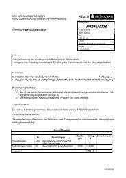 Beschlussvorlage - Vorlage V/0299/2008