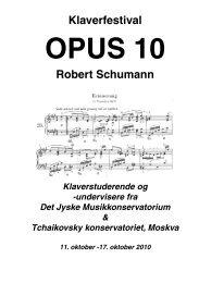 Robert Schumann - musikkons.dk