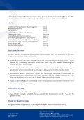 Eine Übersicht über unser Standardprogramm finden Sie hier - Seite 2