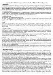 Allgemeine Geschäftsbedingungen von Swarovski AG, im ...