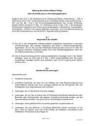 anzeigen - Amt Hüttener Berge