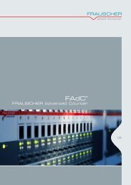 Frauscher Advanced Counter FAdC - networx.at