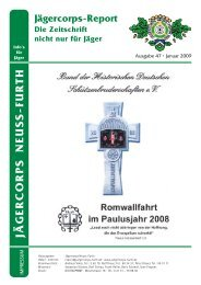 2009 St. Sebastianus Ausgabe - Jägercorps Neuss - Furth 1932