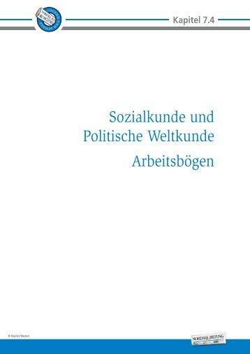Sozialkunde und Politische Weltkunde ... - Nordsee-Zeitung