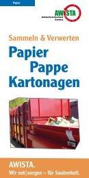 Papier Pappe Kartonagen - Awista