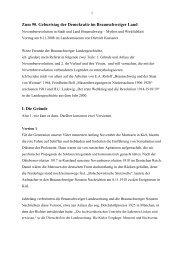 Zum 90. Geburtstag der Demokratie im Braunschweiger Land I. Die ...