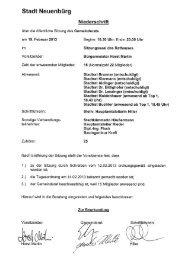 Sitzung vom 19.02.2013 - Neuenbürg