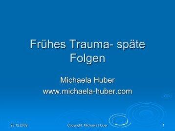 Frühes Trauma - späte Folgen - Kreis Borken