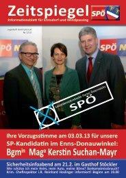Bgmin Maga Kerstin Suchan-Mayr - SPÖ Ennsdorf