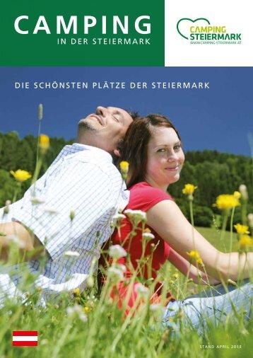 "Prospekt ""Camping Steiermark"" zum sofortigen Download"