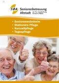 Sommer in der SBA - Seniorenbetreuung Altstadt der Prot ... - Page 2