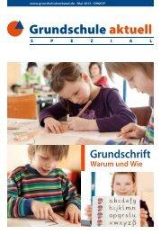 Grundschrift Warum und Wie - Grundschulverband
