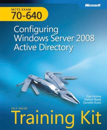 mcts-70-640-configuring-windows-server-2008-active-directory