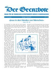 01/2010 - Die Evangelisch-altreformierte Kirche in Niedersachsen