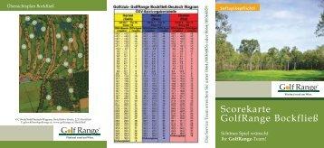 Scorecard Bockfließ - Golfrange.at