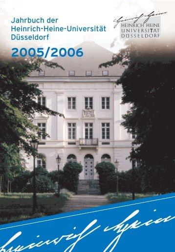 Jahrbuch der Heinrich-Heine-Universität Düsseldorf - Theoretische ...
