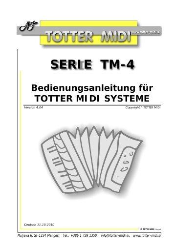 SERIE TM-4 - Music-Shop-Hofmann
