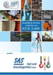 20 - SAS Seil und Anschlagmittel GmbH